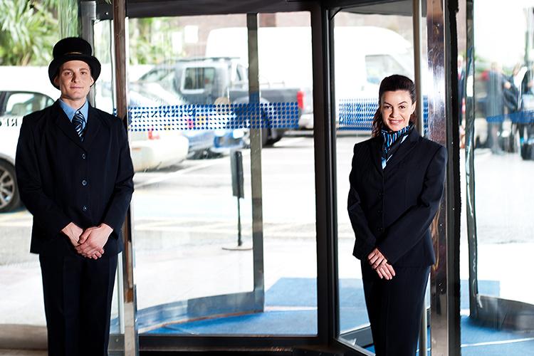 P&S Servicedienstleistungen Sicherheitsdienste Doormen